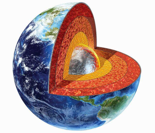 5 struktur bagian Bumi